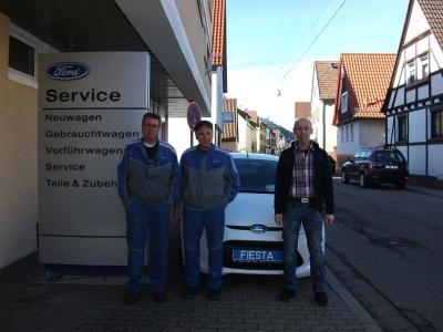 Das Team vom Autoservice Hoffmann-Tretter